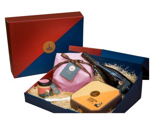 Strenna Mandorle Panettone Geschenk Set