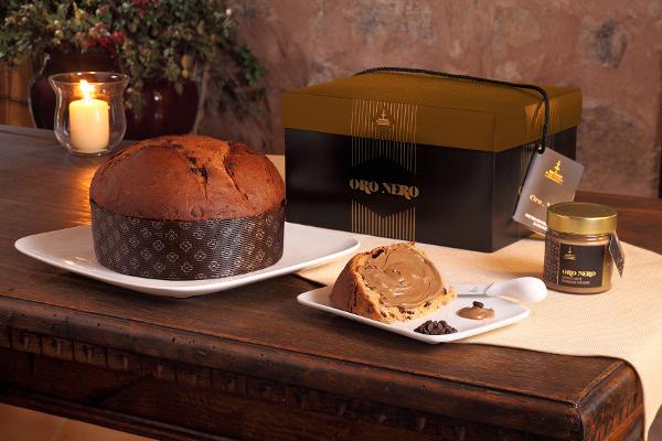 Panettone Schokolade Oro Fiasconaro mit Kaffee Crème